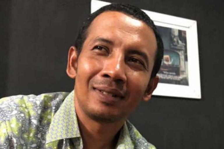 Komisioner KPU Sumbar, almarhum Nova Indra. (Dok : Istimewa)