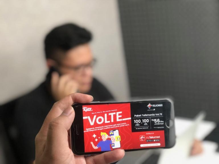 Telkomsel luncurkan Layanan VoLTE kepada pelanggannya yang berbasis jaringan 4G LTE, Selasa (2/6) . (Dok :Istimewa)