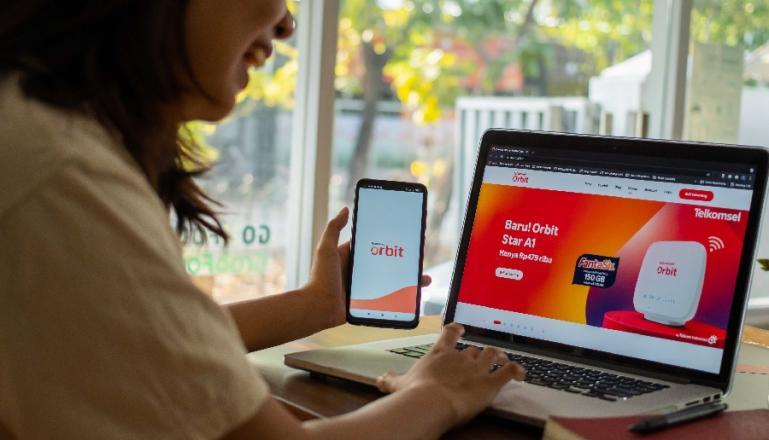 Telkomsel Orbit terus menambah varian produk, jangkauan, dan layanan yang lebih mudah bagi segmen keluarga Indonesia.  (Dok : Istimewa)