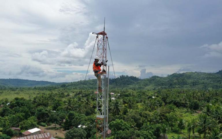 Telkomsel dan BAKTI kembali berkolaborasi membangun 7.772 BTS USO 4G/LTE di Wilayah 3T yang akan dirampungkan seluruhnya pada Desember 2022. (Dok : Istimewa)