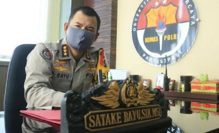 Kabid Humas Polda Sumbar Kombes Pol Satake Bayu. ( Dok : Istimewa)