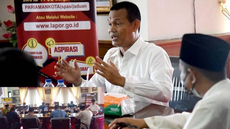 Genius Umar pimpin rapat evaluasi terkiat pembangunan MDW dan MDU, Jumat (6/8). (Dok : Istimewa)