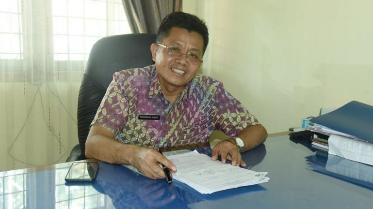 Kepala Dinas Perumahan Rakyat, Kawasan Permukiman dan Lingkungan Hidup Kota Pariaman, Syukri. (Dok : Istimewa)