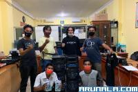 2 Pencuri di ATM BRI Painan Ditangkap