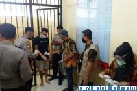 23 Tahanan Polres Pessel Memilih di TPS Berjalan