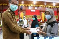 66 Mahasiswa Pariaman Dapat Bantuan Saja Saja