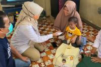 Andre Bantu Balita Penderita Jantung Bocor di Lubeg
