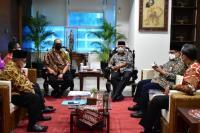 Andre Rosiade Boyong Sejumlah Kepala Daerah Temui Menteri PUPR