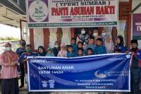 AP II BIM Santuni Ratusan Anak Yatim Jelang Idul Fitri 1442 H