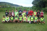 Audy Bantu Pemuda Nagari Sungai Durian