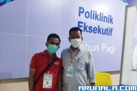 Bapaslon RA - RH Selesai Jalani Pemeriksaan Kesehatan
