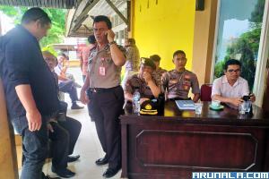 Belasan Polisi Kawal Gedung Pramuka