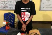 Dalam Sehari, Dua Tersangka Narkoba Ditangkap Polres Pessel
