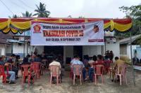 DPC Partai Gerindra Sijunjung Sasar 13 Titik Vaksinasi