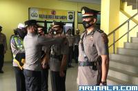 Dua Jabatan Perwira Polres Pessel Disertijabkan