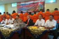 Dua Minggu, Polresta Padang Ungkap 20 Kasus Narkotika