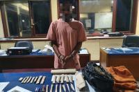 Edarkan Ganja, Riki Refnadi Dibekuk Polisi di Ganting