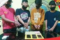 Empat Pelaku Sabu Ditangkap