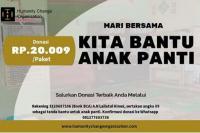 HCO Galang Donasi Untuk Puluhan Anak Yatim