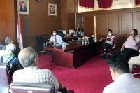 Kepala KPP 1 Padang Kunjungi Genius Umar