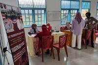 KNPI dan Sat Reskrim Polres Pessel Gelar Vaksinasi