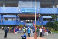 Komplek GOR Agus Salim Ditutup Sementara