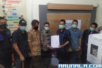 KPU Pasbar Daerah Terakhir Serahkan Dokumen