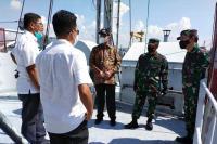KRI Teluk Ratai 509 Direstui untuk Pariaman