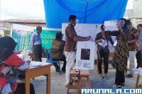 Mahyeldi-Audy Unggul di Dua TPS di Nanggalo