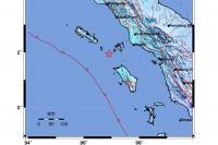 Nias Utara kembali Diguncang Gempa