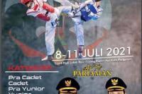 Pariaman Gelar Kejuaraan Terbuka Taekwondo