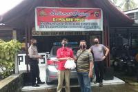 PDIP Sumbar Semangati Petugas Pos Ketupat Singgalang