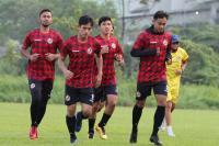 Pemain Semen Padang FC Gelar Latihan Tertutup