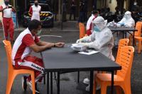 Personel dan Tahanan Jalani Rapid Test dan Swab