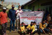 Pertamina dan Hiswana Migas  Berbagi di Dua Panti Asuhan