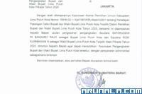 Pj Gubernur Teken Surat Usulan Pelantikan Bupati Terpilih