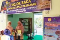 Pojok Baca Hadir di Pasar Rakyat Kota Pariaman