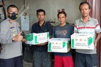 Polda Sumbar Salurkan Bantuan Kemanusiaan