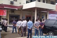 Polisi Perketat Pengamanan di Kantor KPU Sumbar