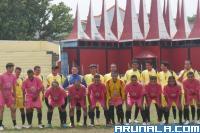PWI Sumbar Uji Tanding PWI Riau dan All Star Semen Padang FC