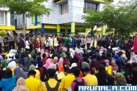 Ratusan Mahasiswa di Pessel Datangi Kantor DPRD Setempat