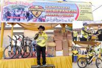 Ratusan Peserta Ikuti KKBP Fun Bike di Pariaman
