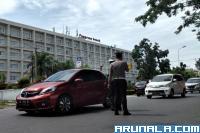 Satlantas Polresta Padang Tilang Seratusan Unit Ranmor