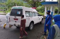 Satu Calon Penumpang KMP Ambu-Ambu di Karantina