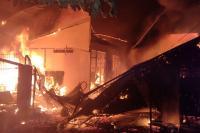 Satu Unit Bangunan Warga Terbakar