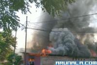 Satu Unit Rumah di Tunggul Hitam Dilahap Api