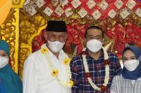 Mahyeldi-Audy Tiba di Padang