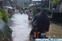 Sejumlah Pemukiman di Padang Dilanda Banjir