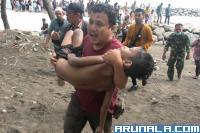 Seorang Anak Terseret Ombak Pantai Padang