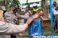 Tak Pakai Masker, Ratusan Warga Padang Ditindak